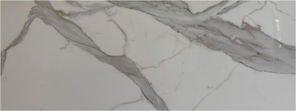 The satisfactory feedbacks about calacatta white marble from our customers