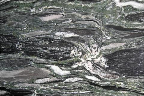 Sea wave green granite