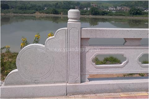 Padang light river railing projects