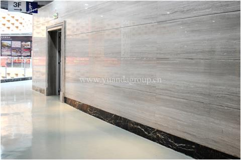 Grey serpeggiante marble floor and wall cladding projects
