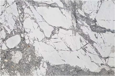 Fantastic white marble